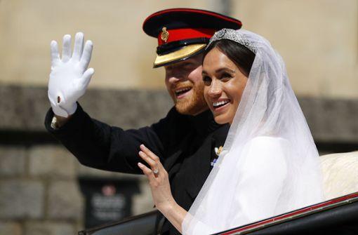 Harry und Meghan sind verheiratet