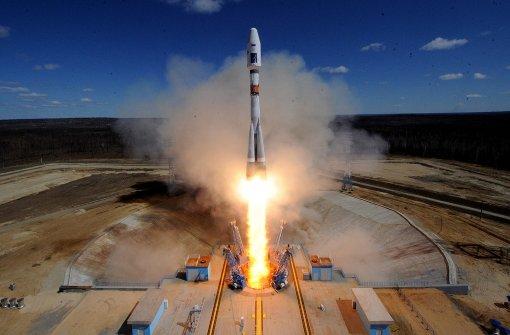 Putin eröffnet Kosmodrom Wostotschny