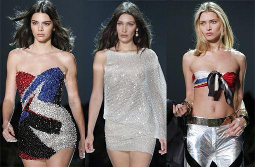 Sexy Hingucker bei der Paris Fashion Week