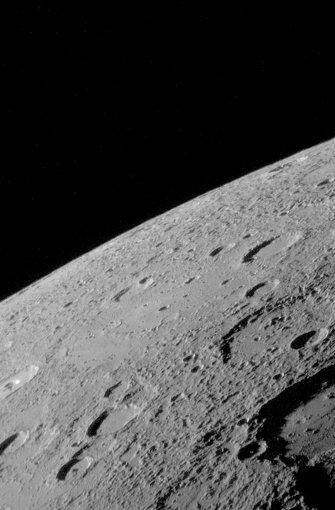 Merkur: 58 Millionen Kilometer. Foto: dpa