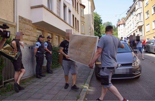 """Minister Strobl wertet Räumung als """"klares Zeichen"""" gegen Hausbesetzer"""