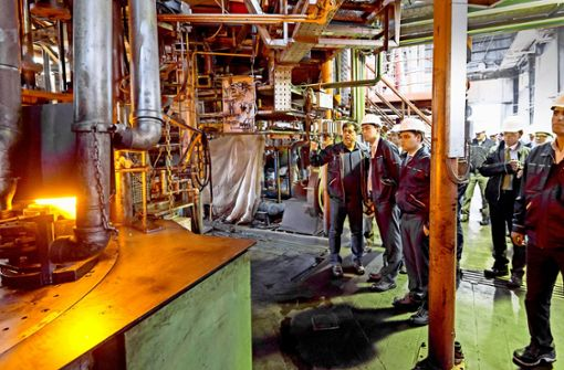 Maschinenbau  sieht noch   Chancen  im Iran