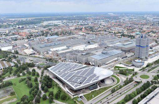 BMW rüstet seine Fabriken um