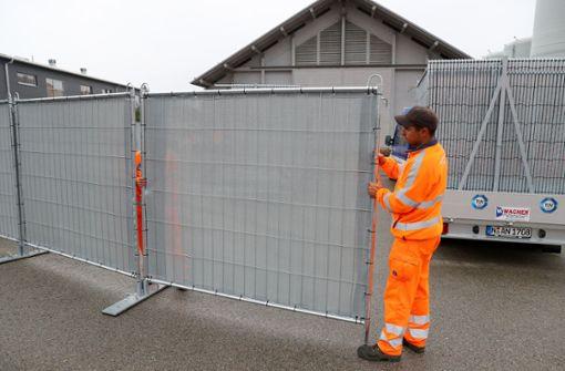 Mobile Sichtschutzwände kommen landesweit