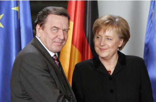 Gerhard Schröder rät Merkel zur Vertrauensfrage