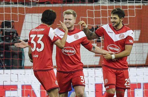 Fortuna Düsseldorf stoppt Herbstmeister Dortmund