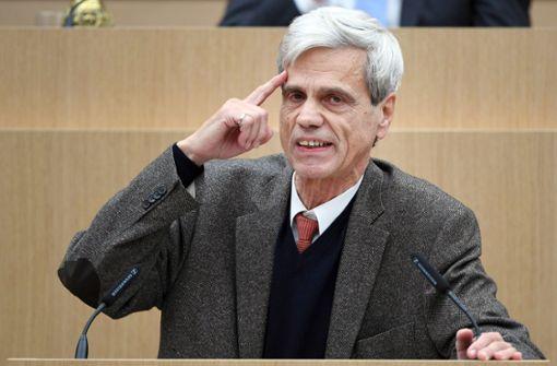 AfD-Landesverband plädiert für Parteiausschluss von Gedeon