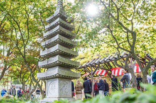 Japangarten im Schlossgarten wiedereröffnet