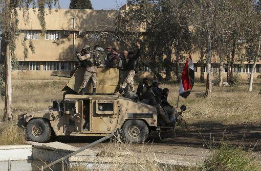 Iraks Militär verkündet Eroberung von Ost-Mossul
