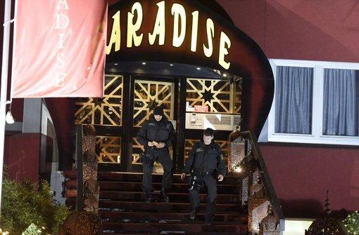 Ungebetener Besuch im Paradise: Die Polizei durchsuchte das Wellness-Bordell Foto: 7aktuell.de/Eyb