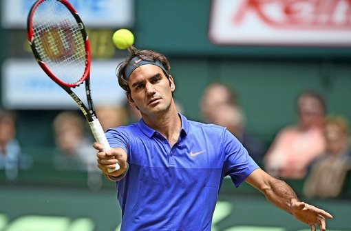 Roger Federer zieht's zum Mercedes-Cup