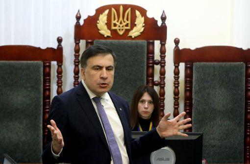 Ukraine schiebt Georgiens Ex-Präsident Saakaschwili ab