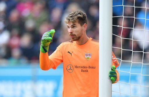Ron-Robert Zieler steht wie gewohnt im VfB-Tor. Foto: Bongarts