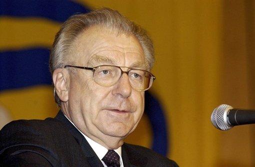 Lothar Späth ist im Alter von 78 Jahren gestorben. Foto: dpa