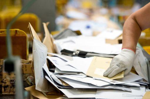 Probleme bei Briefen und Paketen