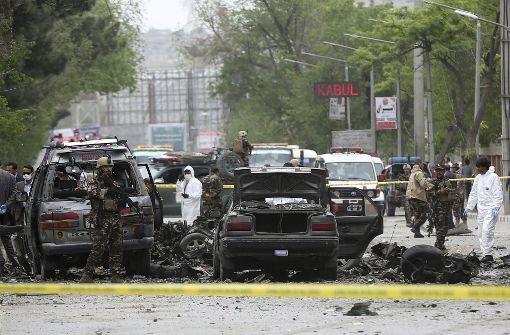 Tote bei Anschlag auf Nato-Konvoi