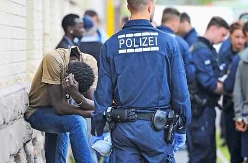 """Drogenrazzia in Mannheim: """"Es kommen nicht nur brave Menschen""""´. Foto: dpa"""