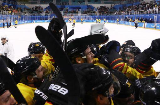 Medaillenträume der Eishockeycracks