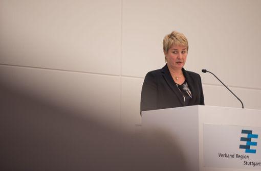 Nicola Schelling hat  im Wirtschafttsausschuss des Verbands Region Stuttgart eine Niederlage erlitten. Foto: Lichtgut/Max Kovalenko