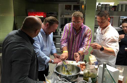 Küchenparty in der Speisemeisterei