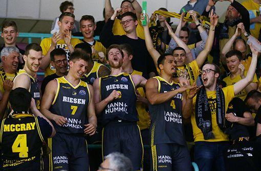 Die Basketballer aus der Barockstadt