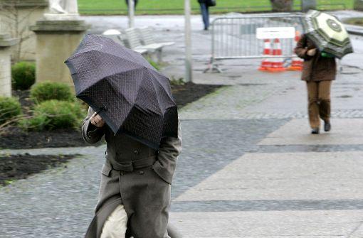 Schlechtwetterfront läutet Wochenende ein