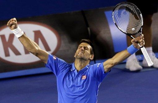 Djokovic marschiert, Becker zufrieden