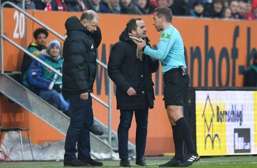 DFB ermittelt gegen FCA-Trainer Baum