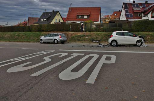 Drei Verletzte nach Verkehrsunfall in Winnenden