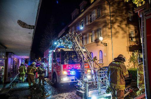 Brand in der Innenstadt ruft Feuerwehr auf den Plan