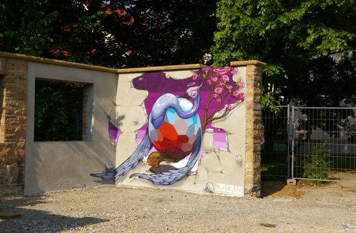 Graffiti trifft Jugendstil