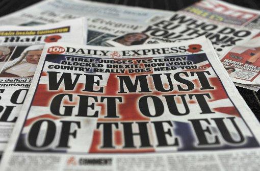 Chaos bestimmt den  Brexit