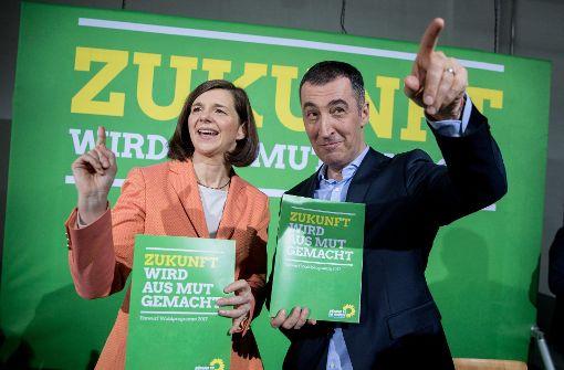Panik bei den Grünen