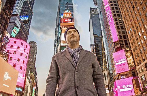 Ein Mannheimer Visionär in New York – Bernd Korz will es schaffen. Foto: Alugha/Arthur Rewak