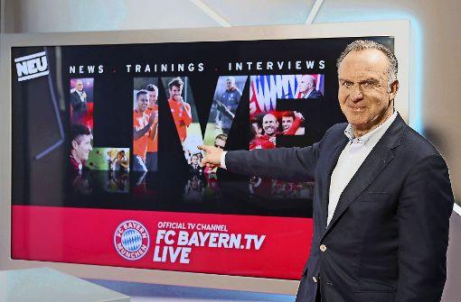 Bayern-Werbung in der Endlosschleife