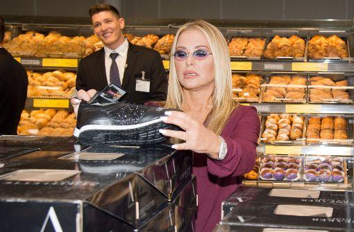 Am Donnerstag tauchte Popstar Anastacia im Gerber in Stuttgart auf, um den Verkaufsstart ihrer neuen Modelinie beim Discounter Aldi zu promoten.  Foto: Lichtgut - Oliver Willikonsky