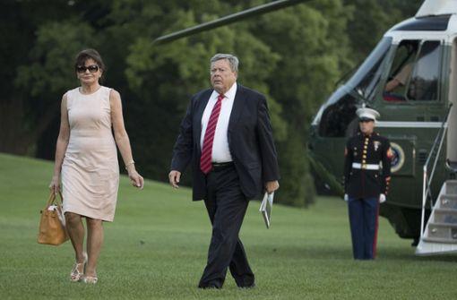 Streicht Trump seinen Schwiegereltern das Visum?