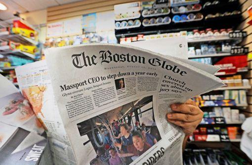 Zeitungen wehren sich gegen Trump