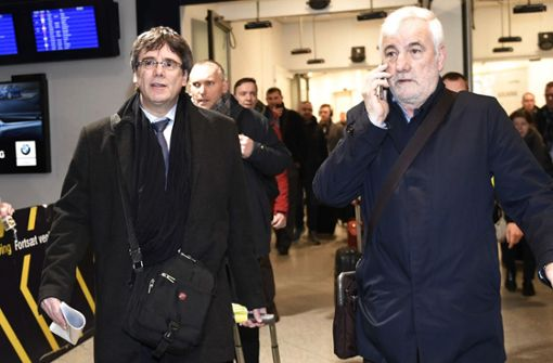 Spanien will neuen Haftbefehl gegen Separatistenchef