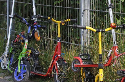 Ein Siebenjähriger hat es mit seinem Tretroller weit gebracht (Symbolbild). Foto: dpa