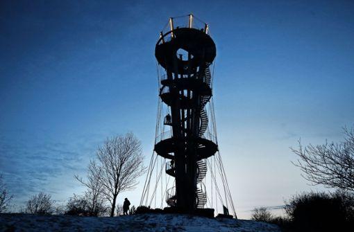 Der Schönbuchturm wird zum Leuchtturm