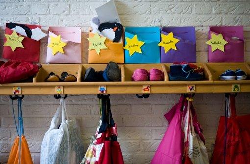 Kindergartenplätze sind begehrt. Foto: dapd