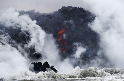 Kilauea sorgt für giftige Dämpfe – und spektakuläre Bilder