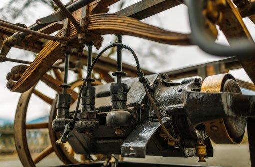 Die Leistung des sehr kompakten und nur 130 kg schweren Elektroantriebs betrug 3 PS. Foto: Porsche AG