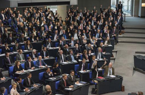 Am 24. Oktober 2017 hat sich der Bundestag nach der Wahl konstituiert. Foto: epd