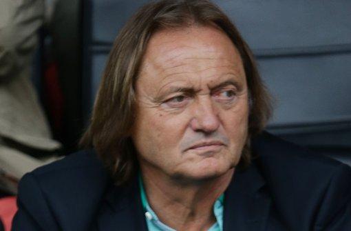 VfB-Aufsichtsratschef Martin Schäfer: Herbe Kritik von Teilen der Fans Foto: Baumann