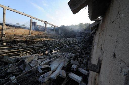 Millionenschaden bei Brand auf Hühnerhof