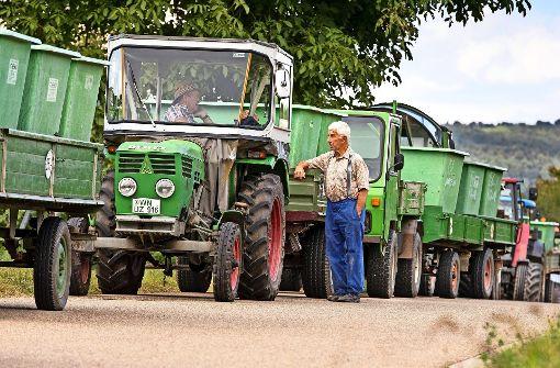 Bürger befürchten Traktor-Lawine