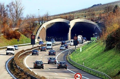 Zwischen Kappelbergtunnel und Wangen soll bald Tempo 80 gelten. Foto: Horst Rudel