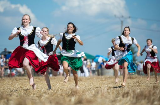 Schäferlauf zum Unesco-Kulturerbe erklärt
